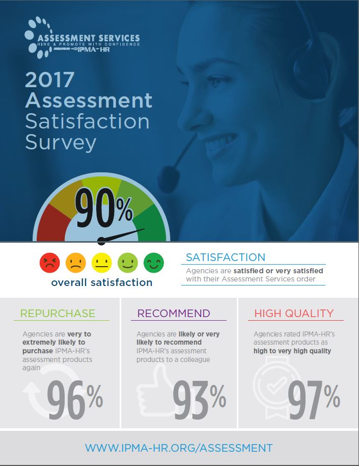 2017 Assessment Satisfaction Graphic