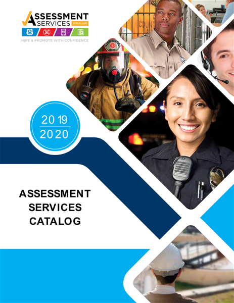 ASSESSMENT PRODUCTS CATALOG